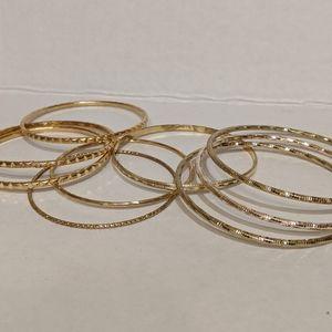 Jewelry - Gold Tone Bracelets